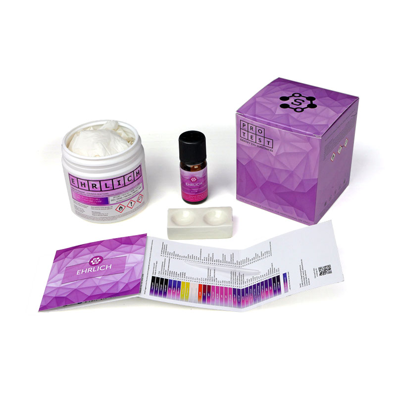 Multiple-use Ehrlich reagent test kit